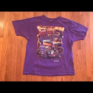 World of outlaws 2000 pennzoil racing size XL